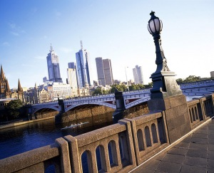 visiting melbourne australia as tourist